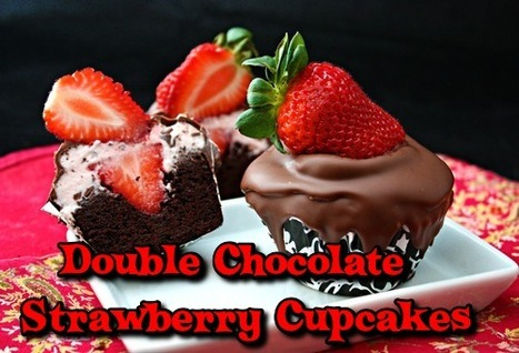 Chocolate Covered Strawberry Cupcake | Tasty Ejuice | Scoop.it