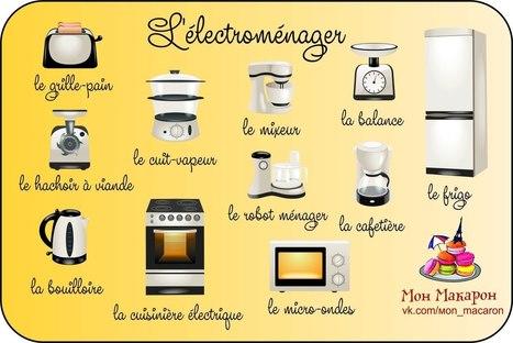 Les appareils électroménagers | FLE enfants | Scoop.it