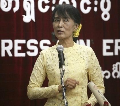 Suu Kyi dismisses order to use 'Myanmar'   Democratic Voice of Burma   The Blog's Revue by OlivierSC   Scoop.it