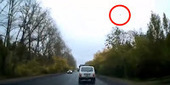 UFO Caused the Car Accident in Izhevsk, Russia | Real Paranormal Videos | Unexplained Mysteries and the Paranormal | Scoop.it