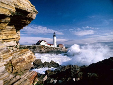 No viviendo en un mundo vivo: Portland Head Lighthouse | Fars - Lighthouse | Scoop.it