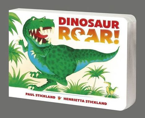 OUT NOW! – the all new edition of the DINOSAUR ROAR! BOARD BOOK! | Dinosaur Roar! | Scoop.it