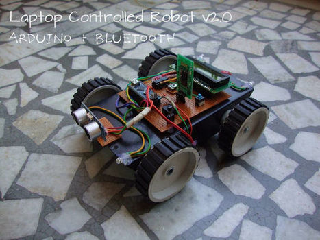 Laptop Controlled Robot v2.0 | Raspberry Pi | Scoop.it
