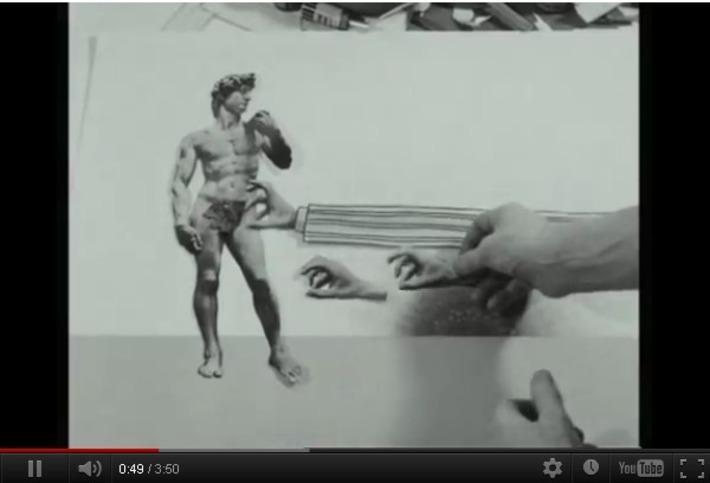 Terry Gilliam, 1970, explaining his stop-motion animation   Machinimania   Scoop.it