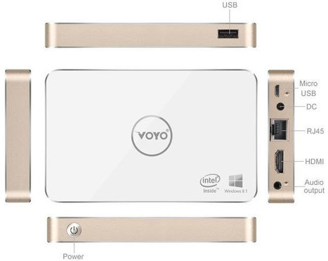 $134 Voyo V2 mini PC Comes with 96GB Storage, a Larger Built-in Battery | Embedded Systems News | Scoop.it