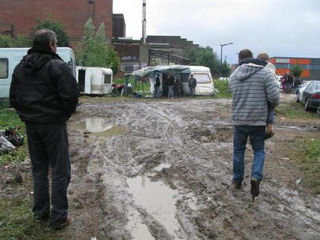 Croix: situation d'urgence au camp Rom - La Voix du Nord   Association solidaire, aide alimentaire , aide aux personnes en difficulté   Scoop.it