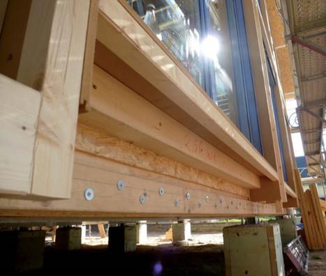 La maison passive qui répond à une triple labellisation européenne est isolée en ouate de cellulose | architecture..., Maisons bois & bioclimatiques | Scoop.it