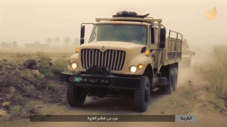 Islamic State shows off 'spoils of war' from recent battles near Fallujah   The Long War Journal   Upsetment   Scoop.it