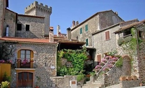 Home in ancient Capalbio. Italy real estate, Tuscany property for sale. | Luxury Villas for Sale Lake Como | Scoop.it
