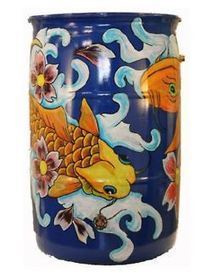 Artist painted rain barrels via Rutgers... | Annie Haven | Haven Brand | Scoop.it