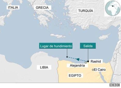 El olvidado naufragio que dejó 500 muertos en el mar Mediterráneo y nadie investigó - BBC Mundo | Seguridad marítima | Scoop.it