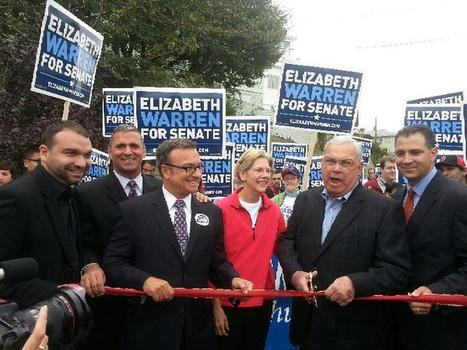 photo: Kicking off the #EastBoston Parade w Elizabeth Warren, Mayor Menino, Sal LaMattina & @FelixArroyo | Massachusetts Senate Race 2012 | Scoop.it