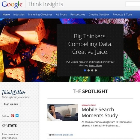 Google's Powerful New Marketing Tool: Think Insights | Simply Social Media Marketing | Scoop.it