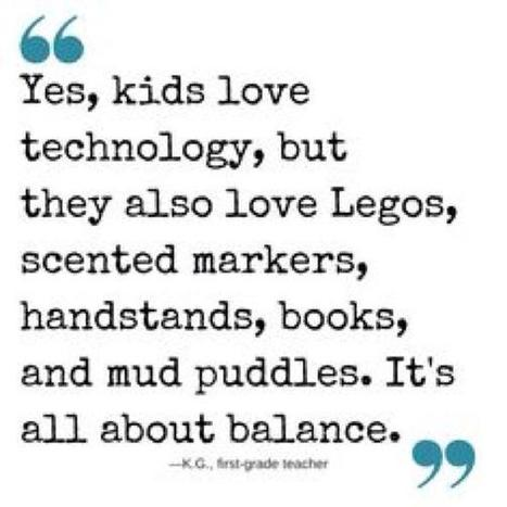 EdTech is all about Balance - and so is life! | Secondary Instructional Technologist` | Scoop.it