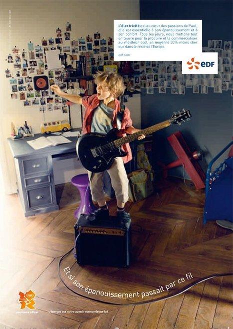 Nouvelle campagne d'affichage publicitaire 2011 | Le groupe EDF | Scoop.it
