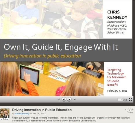 Driving Innovation in K-12 | Wiki_Universe | Scoop.it
