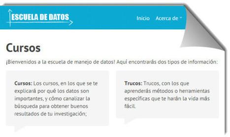 Cursos gratuitos en español para iniciarse en el uso y análisis de datos | Las TIC y la Educación | Scoop.it