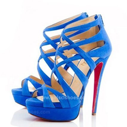 Blue 150mm Christian Louboutin Sandals Balota Suede Hot Sale [Blue Christian Louboutin Sandals Balota Suede] - $146.00 : Christian Louboutin 2013 Sale with Discount Price | Christian Louboutin Shoes | Scoop.it
