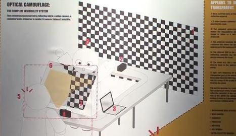 El camuflaje óptico quiere llegar a los automóviles para ayudarnos a ver qué tenemos detrás | Antonio Galvez | Scoop.it