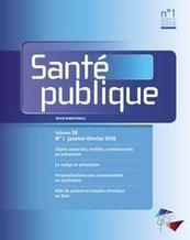 Revue Santé Publique   Santé : patient acteur, patient expert   Scoop.it