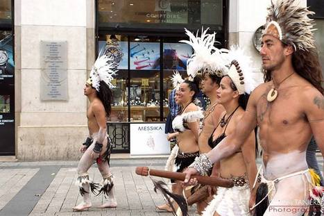 Dancers from Easter Island in Paris ! | tanssi | Scoop.it
