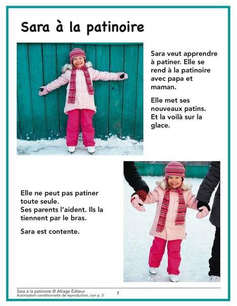Alliage éditeur – Sara à la patinoire | AM STRAM GRAM, la conscience phonologique | Scoop.it