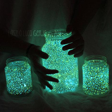 from panka with love: Glowing jar project - varázslat a lakásban (EN/HU) | Amanda's Recipe Box | Scoop.it