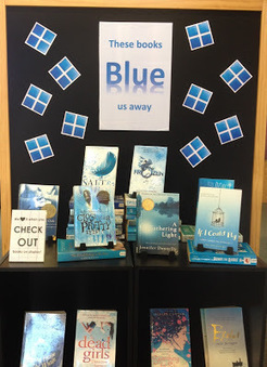Library Displays: These books 'blue' us away! | What's up 4 school librarians | Scoop.it