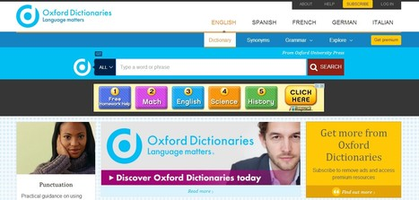 Oxford Dictionaries | English education | Scoop.it
