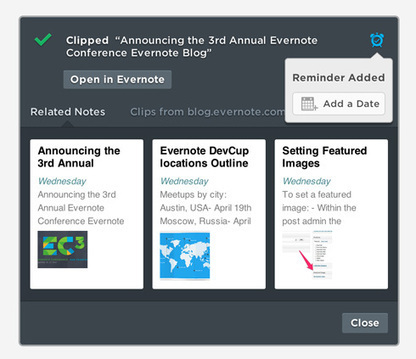 What's New in Web Clipper for Chrome | Evernote | Educomunicación | Scoop.it