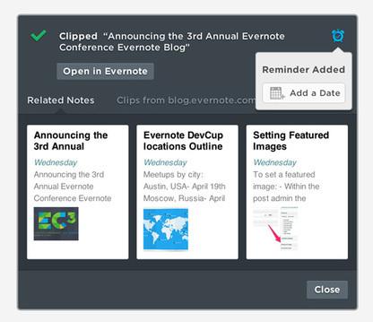 Quoi de neuf dans le Web Clipper pour Chrome | Evernote | Collaborative & Organizational Web Tools | Scoop.it
