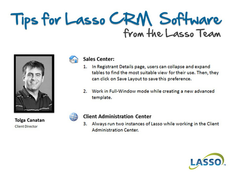 Tips for Lasso CRM Software from Team Lasso | Lasso CRM | real estate marketing | Scoop.it