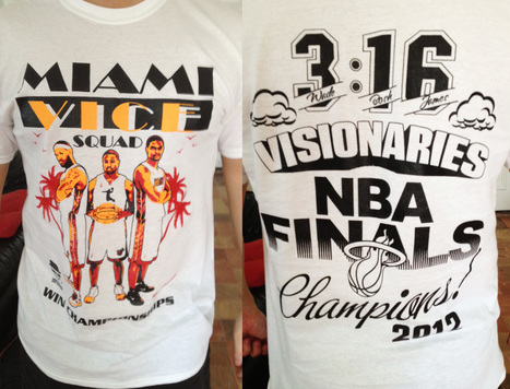 My Miami Heat t-shirt of the day | The Billy Pulpit | Scoop.it