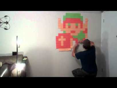 22 Amazing Sticky Notes Works of Art for Your Wall | JobMob | The brain and illusions | Scoop.it