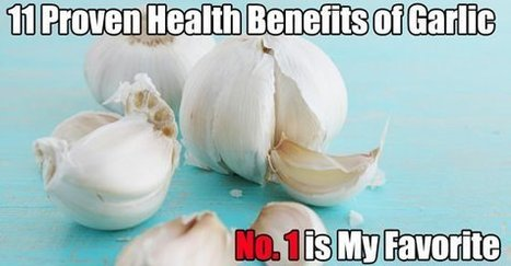 11 Proven Health Benefits of Garlic (No. 1 is My Favorite) | Fitness, Health, Running and Weight loss | Scoop.it