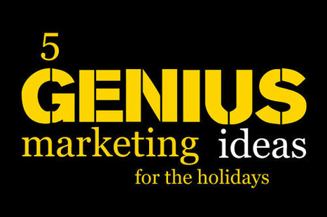 5 Genius Marketing Ideas For The Holidays ScentTrail Marketing | Curation Revolution | Scoop.it