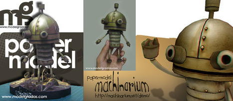 Le paper toy de Machinarium | paper-toy | Scoop.it