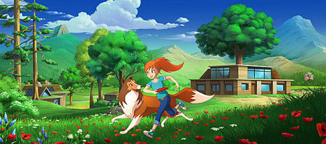 Lassie en série animée sur TF1. | Animation Industry | Scoop.it