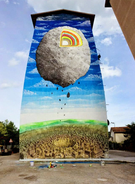 Le Marche's Street Artist Blu's amazing new work in Campobasso | Le Marche another Italy | Scoop.it