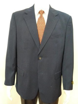 $@$   Richard Harris Italian Style 2 Buttons Sport Coat, wool gabardine, Color: Navy Hima Navy | Discount Sports Coats | Scoop.it
