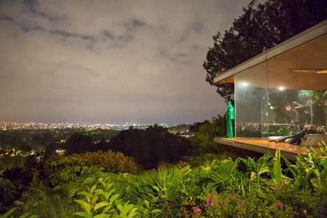 Life-Sized John Lautner Sculpture Hangs Out at His Sheats-Goldstein House in ... - Curbed   Visual Art   Scoop.it