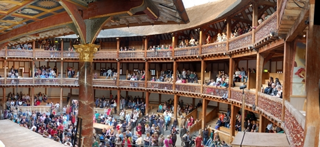 Inside the Globe Theater | William Shakespeare and the Globe Theater | Scoop.it