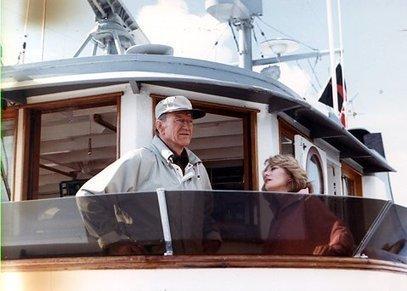 John Wayne, la leggenda, l'uomo e la sua barca Wild Goose   Nautica-epoca   Scoop.it