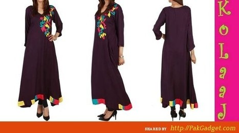 Koolaj Summer Wear Trendy Motifs and Embroidered 2013 | Fashion | Scoop.it