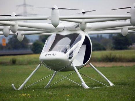 Volocopter : l'hybride drone/hélico attend son envol   Drone   Scoop.it