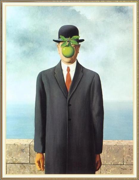 "Twitter / arteaIdia: ""The Son of Man"" (1964), Rene ... | Anni Sessanta | Scoop.it"