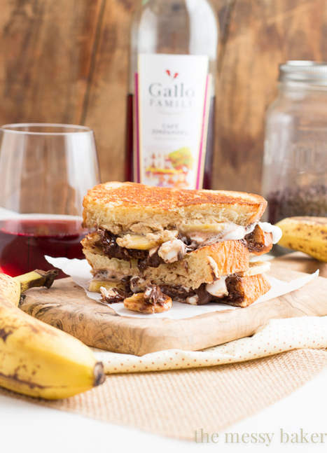 Funky Monkey Grilled Cheese ~ #SundaySupper - The Messy Baker Blog | Webicurean | Scoop.it