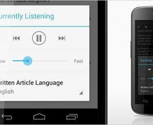 Listen to Articles on Pocket's Updated Android App - The Next Web   Android Information and Apps   Scoop.it