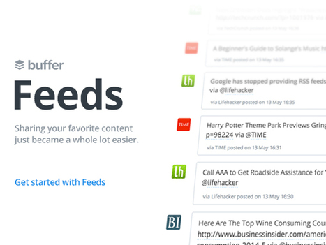 "Buffer ""Feeds"": Share Links From Your Favorite Sites Right Inside Buffer! 
