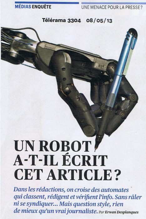 Un robot a-t-il écrit cet article? | DocPresseESJ | Scoop.it